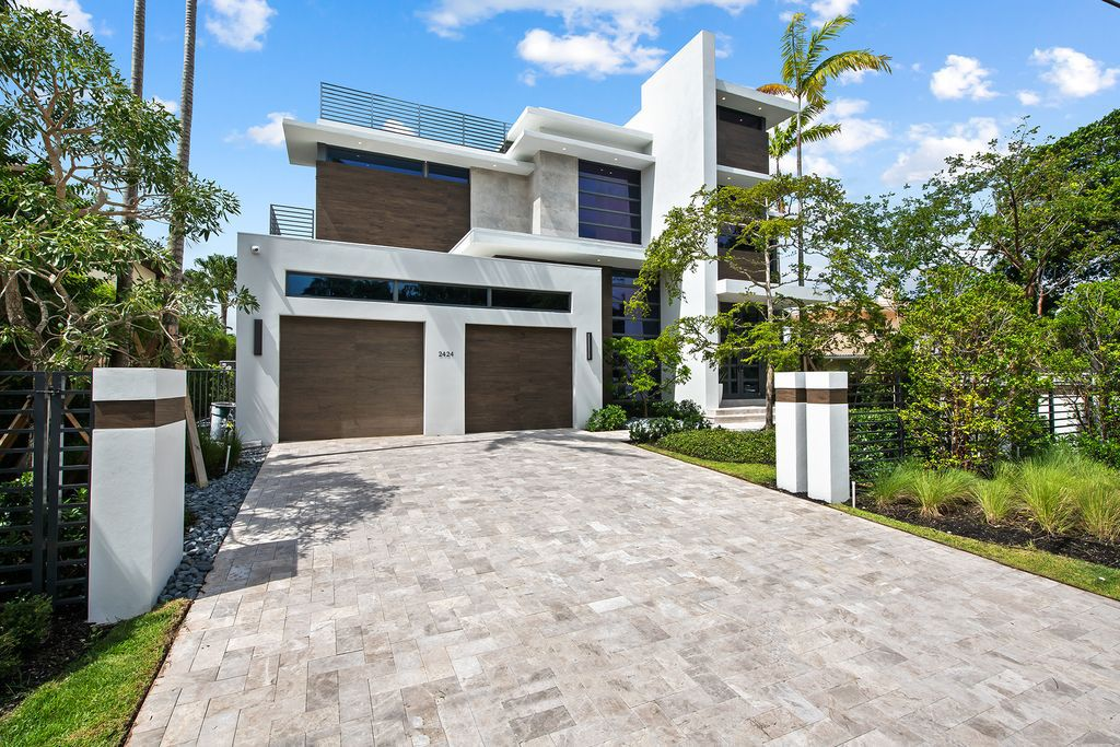 Stunning New Construction Home in Fort Lauderdale Listed at $7,900,000