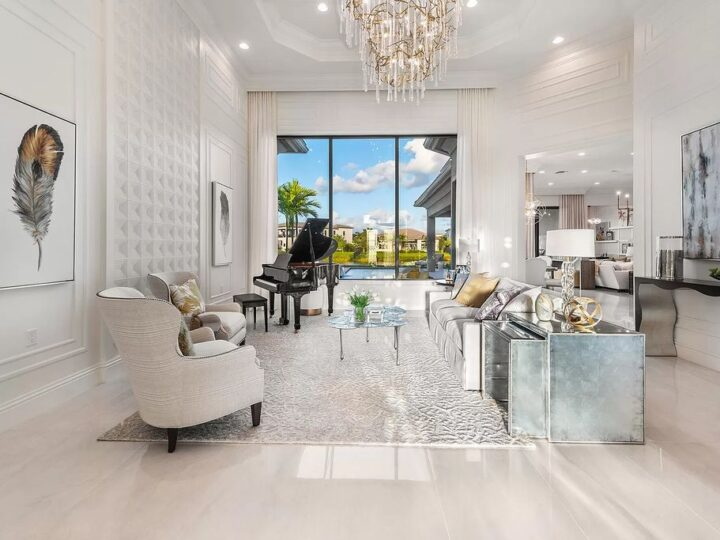 Stunning Transitional One Story Home in Boca Raton on Market for $3,700,000