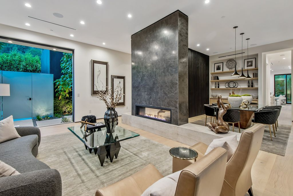 The Home in Brentwood is a truly exciting new construction architectural estate designed by acclaimed Crockett Architects now available for sale. This home located at 12212 Octagon St, Los Angeles, California
